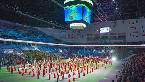 World Weightlifting Championships kicks off with opening ceremony in Ashgabat