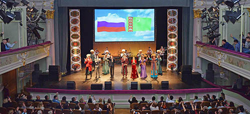 Days of Culture of Turkmenistan in Russian Federation come to a close
