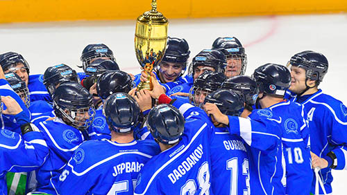 Turkmen President's Cup hockey tournament comes to end