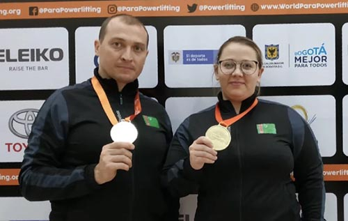 Turkmenistan's para powerlifters win two gold medals at Americas Open Championships