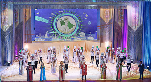 """Theme of Year """"Turkmenistan – the Motherland of Prosperity"""" launched in Ashgabat"""