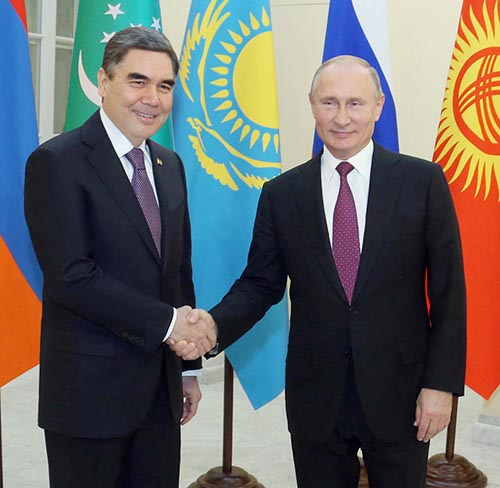 President of Turkmenistan attends informal summit of CIS heads of state in St. Petersburg