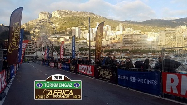"""""""Turkmengas"""" is the official partner of the rally-RAID Africa Eco Race-2019"""
